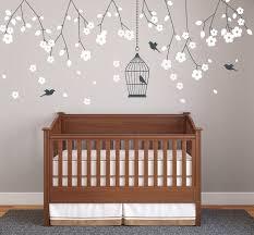 stickers muraux chambre design interieur sticker mural chambre bébé branches fleuries