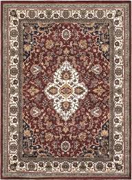 ecarpetgallery burgundy cream medallion floral area rug u0026 reviews