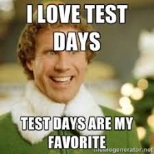 Test Meme - old school test day the exchange fitness