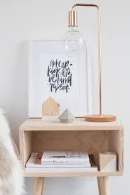 unique table lamps inside scandinavian interiors modern home decor