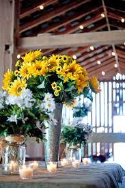 sunflower wedding table decorations wedding decoration ideas gallery