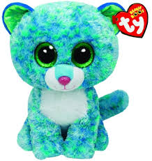 beanie boo leona ty beanie boos buddies leona blue leopard