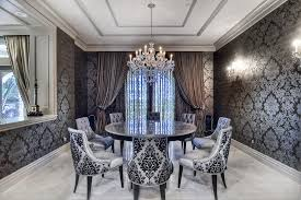 Neutral Dining Rooms 2017 Grasscloth Wallpaper 2017 Inspirational Ideas To Decorate A Glamorous Dining Room