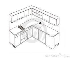 dessiner une cuisine en perspective meuble cuisine dessin urbantrott com