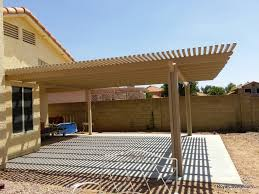 Patio Cover Lights by Alumawood Lattice Patio Cover Installer Mesa