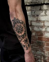 compass tattoo designs with meaning nautical compass tattoo ideas