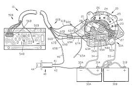 alternator wiring diagram regulator with and ford mustang