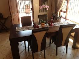 dining room sets for cheap cheap modern dining table brown white wall brown woodlegs