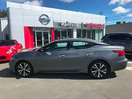 nissan maxima used 2017 used 2017 nissan maxima sv in kentville used inventory