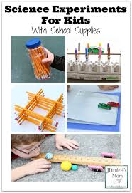 science experiments for kids with supplies