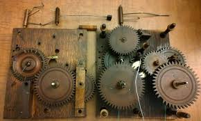 wooden gears from a 100 year old clock i u0027m restoring pics