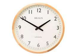 clocks modern u0026 contemporary wall u0026 desk clocks heal u0027s