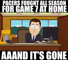 Pacers Meme - 25 best memes of the miami heat knocking out the indiana pacers