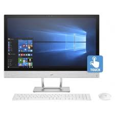 ordinateur de bureau tactile tout en un prix pc de bureau all in one hp pavilion 24 r002nk tactile i5 7è