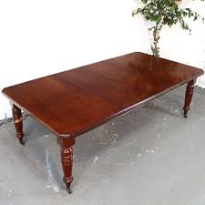 Extendable Dining Table Seats 10 8ft Victorian Mahogany Extending Dining Table 2 Leaves Seats 10