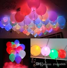 2018 led balloons 12 multicolor lights