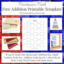 montessori math lessons for addition free printables the
