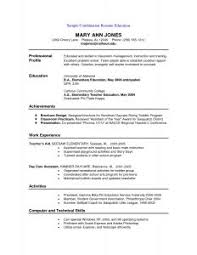 The Best Resumes Examples by Examples Of Resumes 81 Terrific The Best Resume Ever Book U201a Ideas