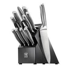 modernist 13 piece knife block set 17500 000 the home depot