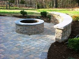 patio paver fire pit ideas best patio paver designs ideas