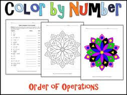 order of operations color by number by charlotte james615