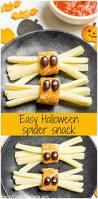 healthy halloween spider snacks recipe healthy halloween