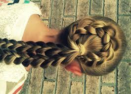 flower hair bun bun hair tutorial