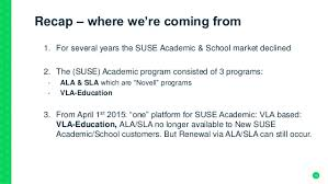 save the date sles the new suse academic program explained
