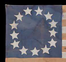 Betsy Ross Flags Jeff Bridgman Antique Flags And Painted Furniture Homemade Flag