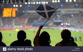 the flag of scotland hampden park hampden park hampden park