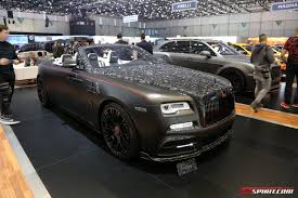 roll royce wood geneva 2017 mansory rolls royce dawn gtspirit