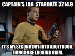 Kirk Meme - ominous captain kirk memes quickmeme
