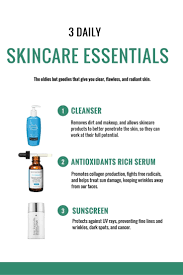 the 3 essential daily skincare products everyone should use