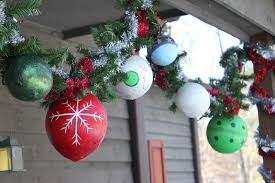 Cheap Outdoor Christmas Decorations by Do It Myselff Hand Made Outdoor Ornaments Tutorial