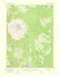 Topographical Map Of United States by Old Topographical Map Shasta California 1964