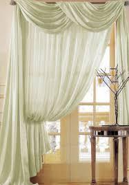 Sheer Scarf Valance Window Treatments Window Treatments With Scarves Sheer Scarf Window Treatments