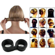 bun clip unisex hair bun makers accessories ebay
