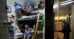 In Wealthy Hong Kong Poorest Live In Metal Cages Ny Daily News