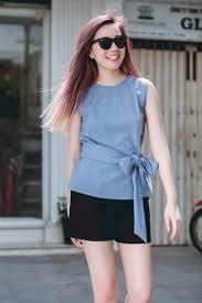 ao nu dep áo thun dây nữ hàn quốc đẹp xuân hè 2017 cho nàng công sở dạo phố