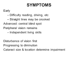 common signs and symptoms of eye diseases ppt video online download