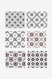 dmc free pattern cross stitch ornamental motifs