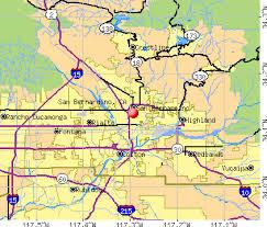 san bernardino ca map san bernardino california ca profile population maps