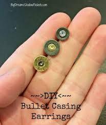 bullet stud earrings diy bullet casing stud earrings www bigdreamsshallowpockets