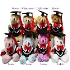 personalized graduation teddy new 14cm dr graduation teddy plush wool dolls