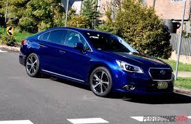 subaru dark blue 2015 subaru liberty 3 6r review video performancedrive