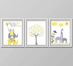 Yellow And Grey Nursery Decor Yellow And Grey Nursery Decor Room Decor Baby Children