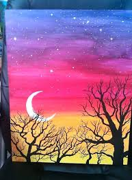 easy acrylic landscape paintings easy paintings for kids large size of exquisite home design easy acrylic