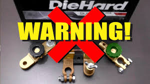 Auto Battery Wiring Diagram Warning Automotive Battery Disconnect Switches Youtube