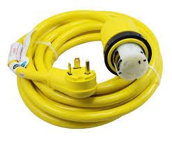 amazon com conntek 14435 25 foot rv power cord rv 30 amp male