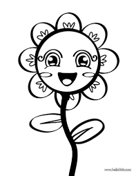 coloring pages printable flowers to color simple flower coloring